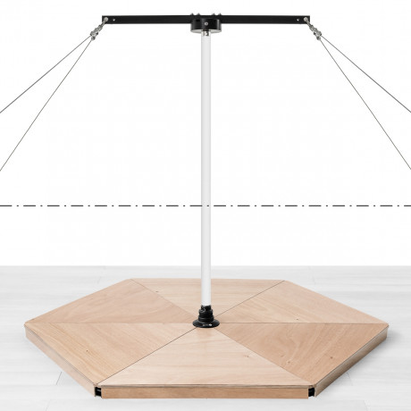 WhirlPole Kit pour Podium Pole Hive